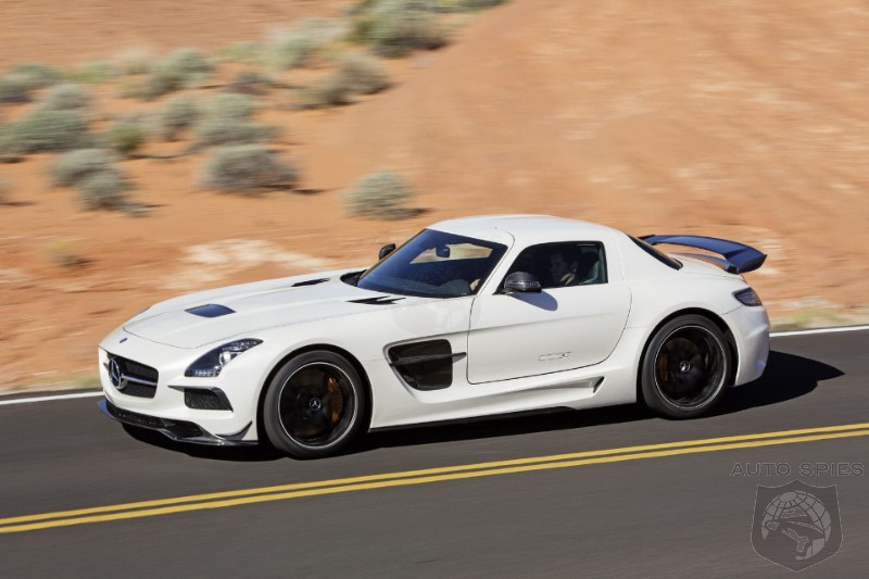 VIDEO: The FIRST Video Of The Mercedes-Benz SLS AMG Black Series Is...Epic